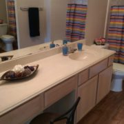 B2 - Master Bath Counter - Apartments Near Houston Tx